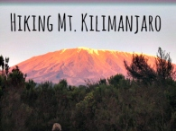 Hiking Mt Kilimanjaro