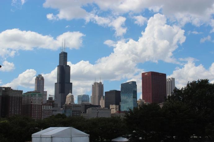 Tourist in Chicago
